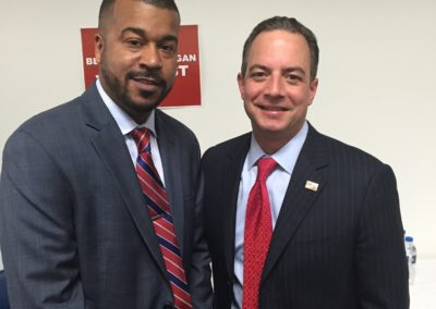 Chairman Priebus in Detroit