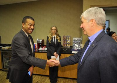 Meeting with Gov Snyder