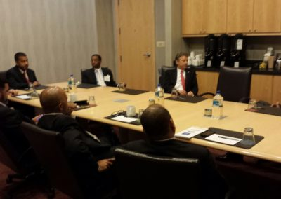 Private Detroit Meeting with Rand Paul