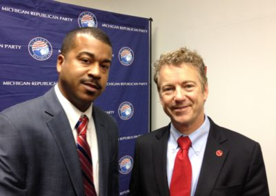 Rand Paul in Detroit