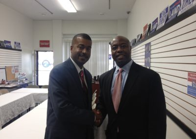 Senator Tim Scott in Detroit