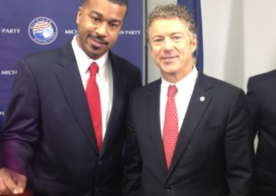 WB and Senator Rand Paul