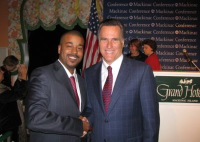 wb and mitt romney